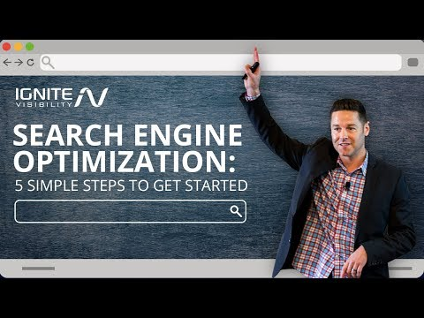 Search Engine Optimization in 2019 - 5 Simple Steps To Get Started