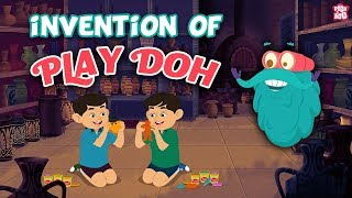 Invention Of Play Doh - The Dr. Binocs Show | Best Learning Videos For Kids | Peekaboo Kidz