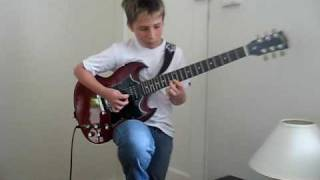 Sultans of Swing solo by Josh Brown (cover)