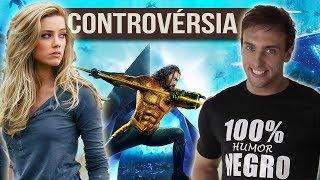 ControvÉrsia Em Aquaman LÉo Lins E Amber Heard Entenda
