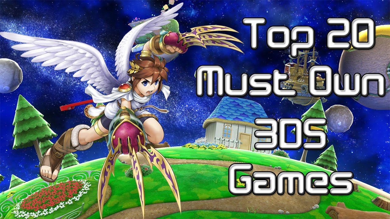 Top 20 Must Own 3ds Exclusive Games 2015 2016 Youtube