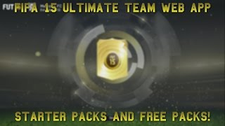 Fifa 15 Ultimate Team Web App | Pack Opening and First Look! Thumbnail