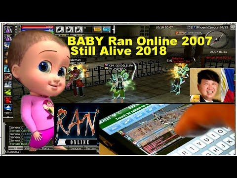 RAN ONLINE 2007-2018  (BabyRan) Waiting for (Ran online Mobile) - RANATICS PH,GS