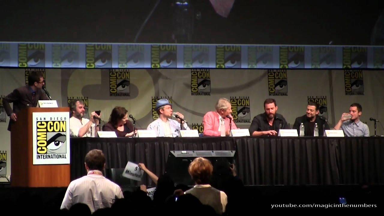 Download The Hobbit, San Diego Comic Con 2012