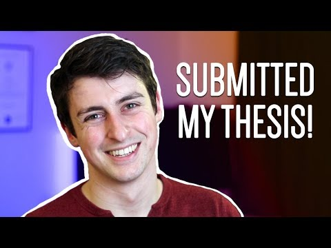 HANDING IN MY PhD THESIS! | A week as a PhD student #27
