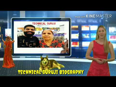 American Reporter Talk About Technical Guruji Biography || Gourav Chowdhary Biography