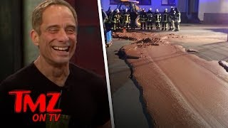 German Street Is Covered In Chocolate! | TMZ TV