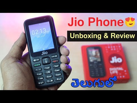 Jio Feature Phone Unboxing & Review In Telugu    by Telugu Tech TV