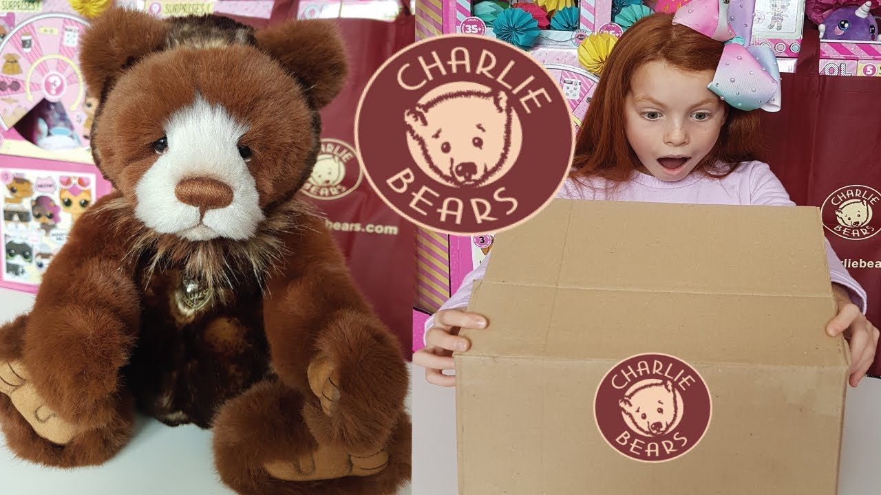 2018 Charlie Bears Plush Pamper New