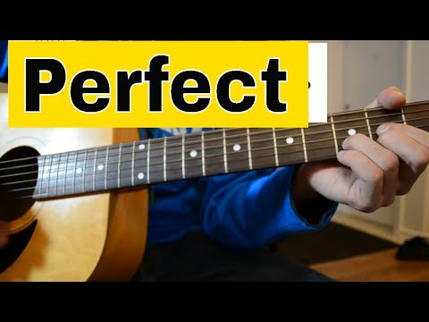 How To Play 'Perfect' - Ed Sheeran- Easy Acoustic Guitar Tutorial/Lesson