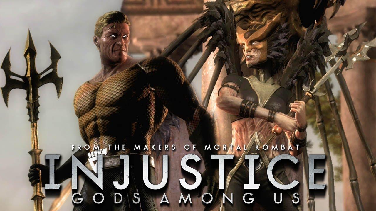 Injustice: Gods Among Us - Aquaman Blackest Night vs