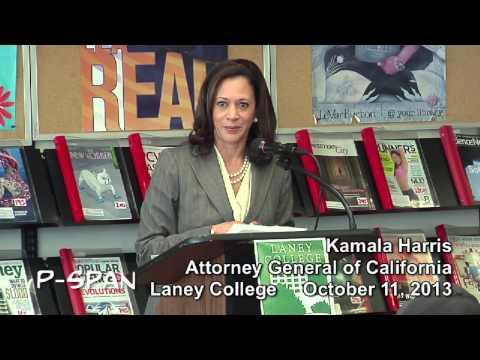 P-SPAN #330: Kamala Harris, California Attorney General, addresses Laney College