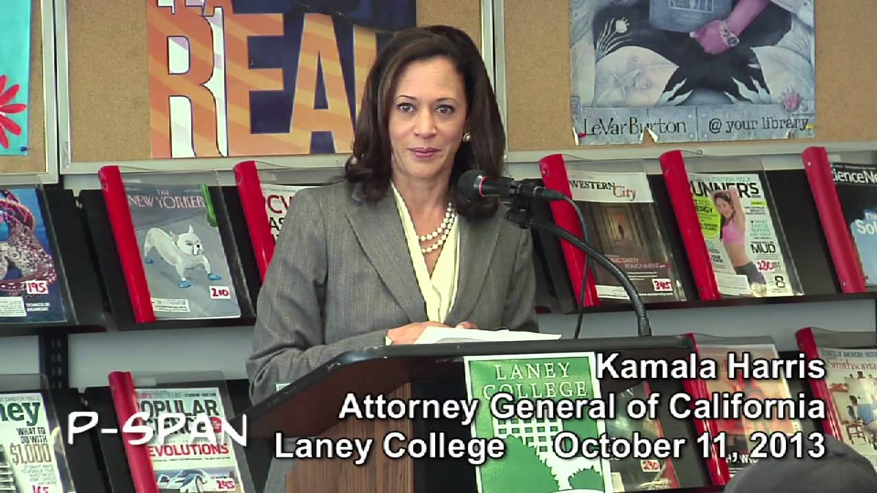 P-SPAN #330: Kamala Harris, California Attorney General, addresses on adjutant general of california, legislative branch of california, mayor of california, first lady of california, president of california, judicial branch of california,