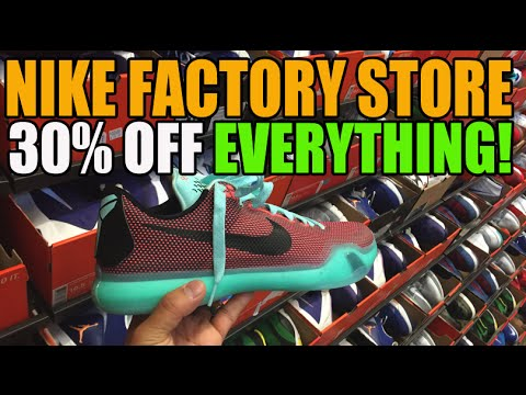 30% Off Everything! Nike Factory Store Friends & Family Sale Fun!