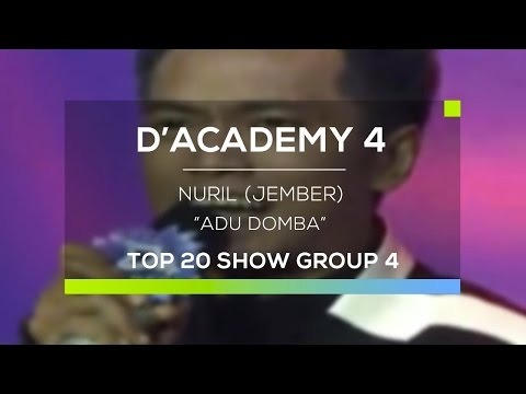 Nuril, Jember - Adu Domba (D'Academy 4 Top 20 Show Group 4)