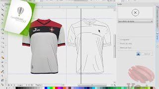 Corel Draw x7, camisa corel draw