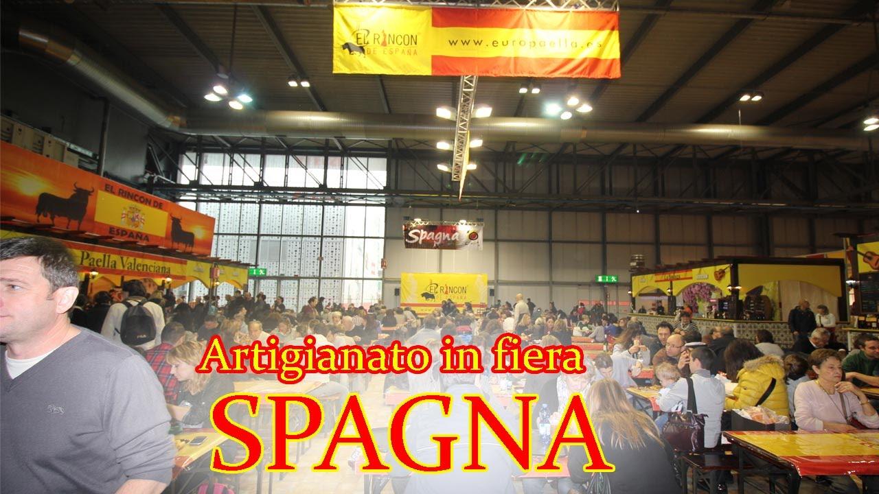 Spagna fiera dell 39 artigianato a milano 2015 youtube for Fiera dell arredamento milano