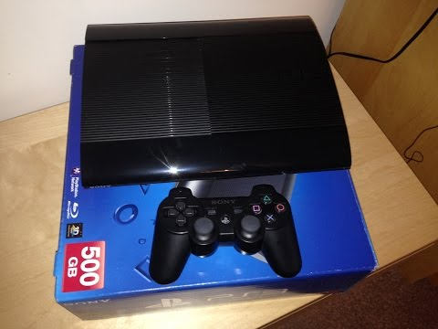 Покупка SONY PlayStation 3 в 2016 году Super Slim 500 Gb