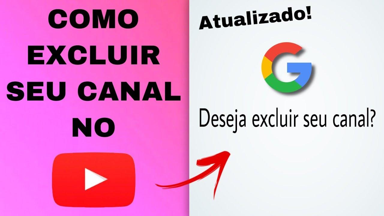 APRENDA COMO EXCLUIR SEU CANAL NO YOUTUBE PELO CELULAR EM 3 MINUTOS ! ATUALIZADO!