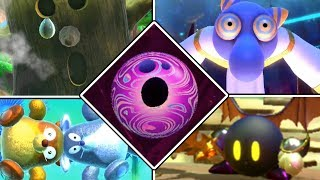 Kirby Star Allies - All Boss Knockouts Animations