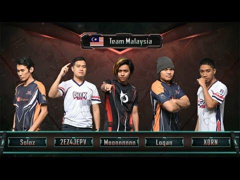 Soloz Mengganas di All Star Match Malaysia Vs Singapore (GAME 2)