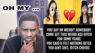 I Wish I Never Met You - By Domo Wilson (LYRIC VIDEO)   REACTION