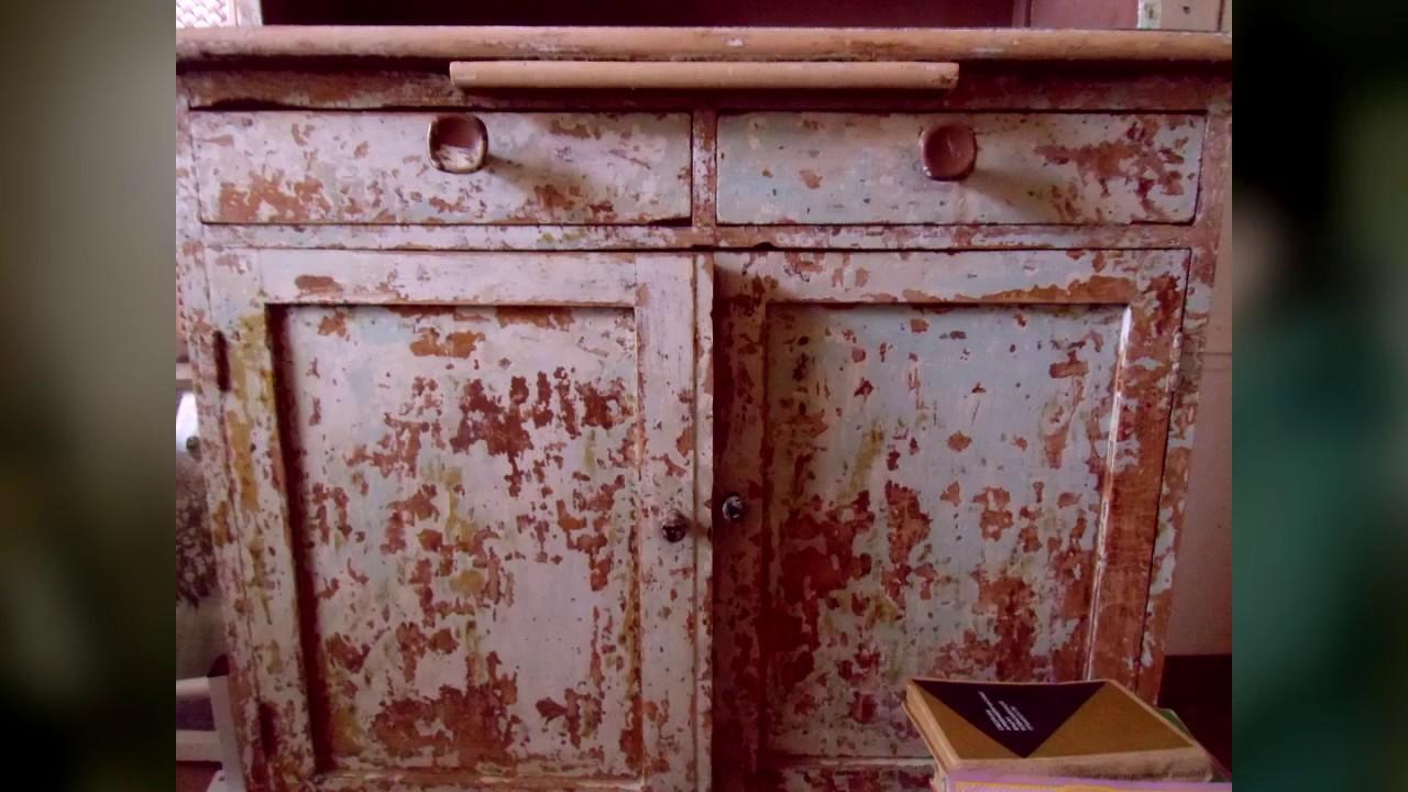 комод жив переделка старой советской мебели Youtube