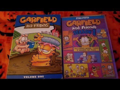 Garfield Friends Dvd Differences Volume 1 Vs Season 1 Youtube