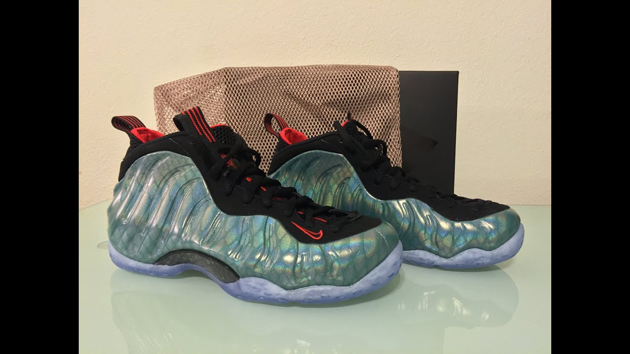 ac1fba8df6d ... air foamposite one f7ff8 c32d2  ireland nike foamposite gone fishing  unboxing and on feet review 15f9a 87121