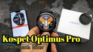 Kospet Optimus Pro - One Month Later - The Best Full Android Smartwatch?