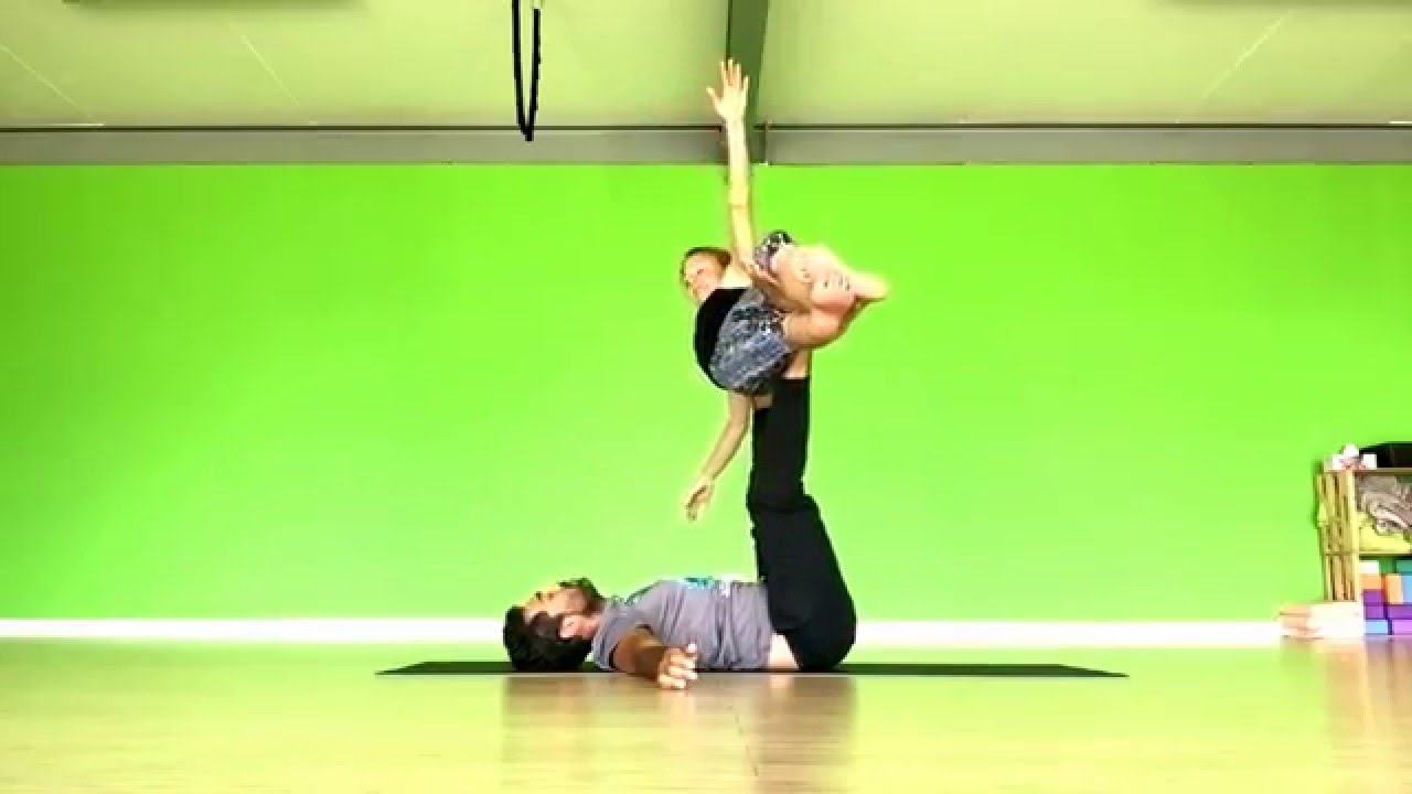 acroyoga whale to throne washing machine youtube