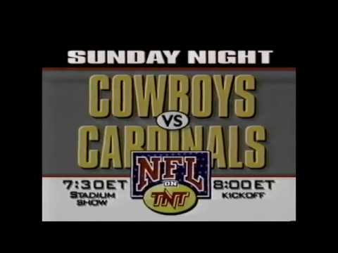 Dallas Cowboys vs. Arizona Cardinals - TNT Commercial (1993)