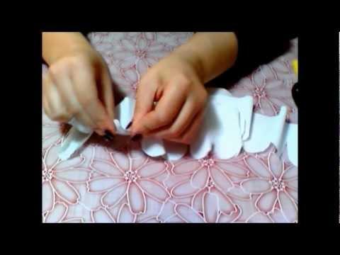 Tutorial Rosa Di Carta Crespa Paper Rose Youtube