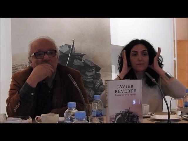 """Javier Reverte concluye con """"Banderas en la niebla"""" su trilogía sobre la Guerra Civil"""