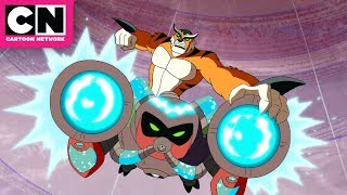 Ben 10 | Dr. Animo + Ben Team Up | Cartoon Network