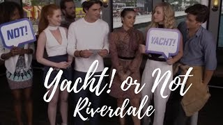 Riverdale cast Yacht! or Not! @ Comic Con 2016