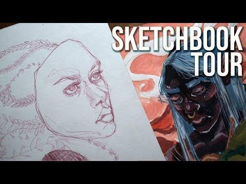 Sketchbook Tour - June 2018
