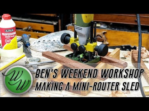 How to make a Mini Router Sled - The Weekend Workshop