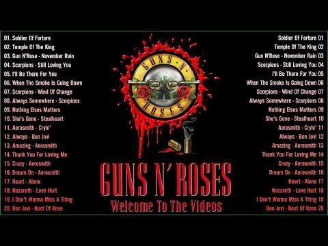 Nonstop Slow Rock Ballads 70s 80s 90s - Nazareth, Scorpions, Bon Jovi, Scorpions, GNR