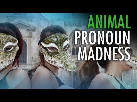 "PETA enters pronoun minefield with ""speciesism"" lecture"
