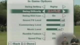 Tiger Woods PGA Tour 09 All-Play - Wii - Feature Walkthrough