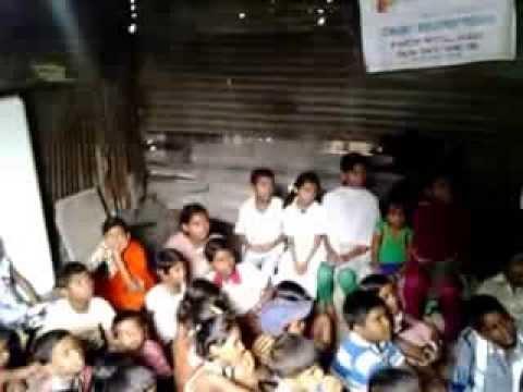 SLUM CHILDREN  COMMUNITY ACTIVITY ON 11AUG 2013