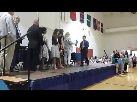 Mary Bryan Elementary School Fifth Grade Awards Night.