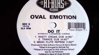 Oval Emotion - do it (nasty organ dub)