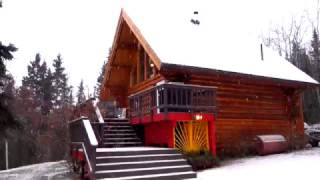 Alaska AirBnB in Fairbanks - Northern Lights Aurora Borealis, Winter Snow and so much more!