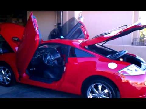 2007 mitsubishi eclipse gt with vertical doors youtube. Black Bedroom Furniture Sets. Home Design Ideas