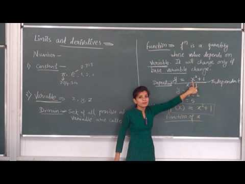 MATHS-XI-13-01 Limits Introduction(2016) By Swati Mishra, Pradeep Kshetrapal channel