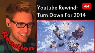 YouTube Rewind: Turn Down for 2014 REACTION! | WHAT AN AMAZING YEAR! |