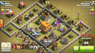 Matar el castillo del clan, Parte 2 Clash of Clans
