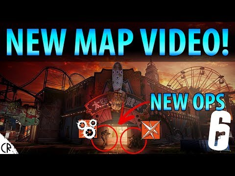 New Map Video & Operator Tease Official - Blood Orchid - Hong Kong - Rainbow Six Siege - R6